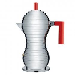 Alessi Pulcina Espressokanna Röd 6 Koppar