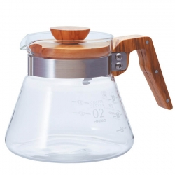 Hario Coffee Server 0,6 L Oliven