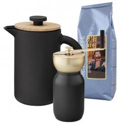 Stelton Theo Kaffepress 6 kopp. Inkl Kvarn & Kaffe