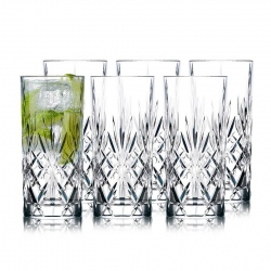 Lyngby Melodia Highball Glas 6 st. 36 cl