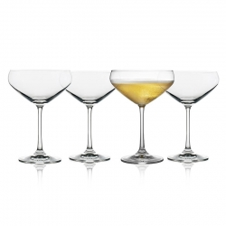 Lyngby Juvel Champagneskål 4 st 34 cl