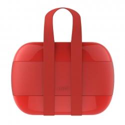 Alessi Lunch Box Röd