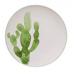 Bloomingville Jade Kaktus Tallrik Grön 25cm