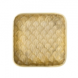 Bloomingville Bricka Guld 17,5cm
