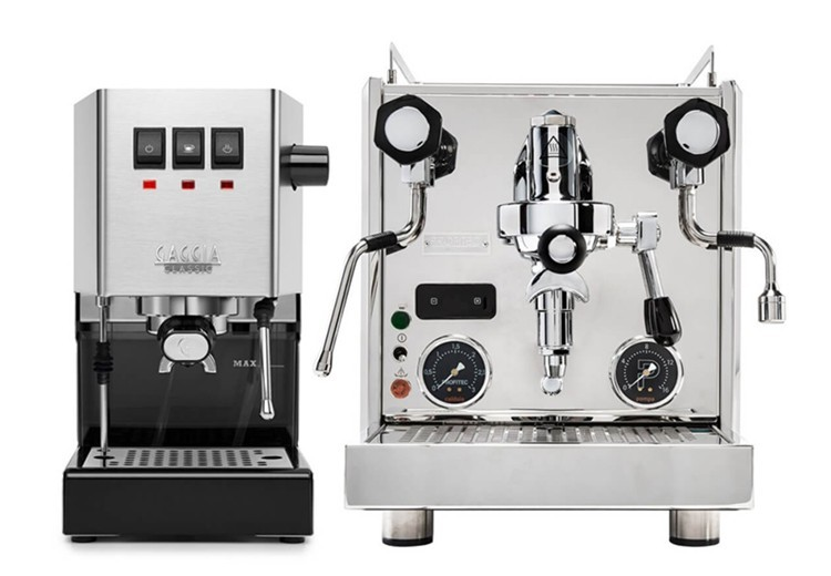 Halvautomatiska espressomaskiner