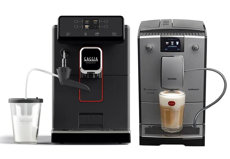 Helautomatiska espressomaskiner