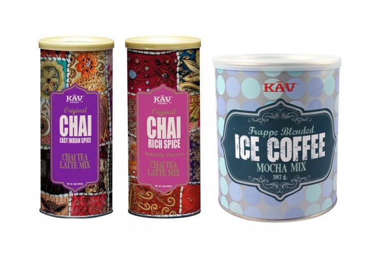 KAV Chai, Choklad & Frappe