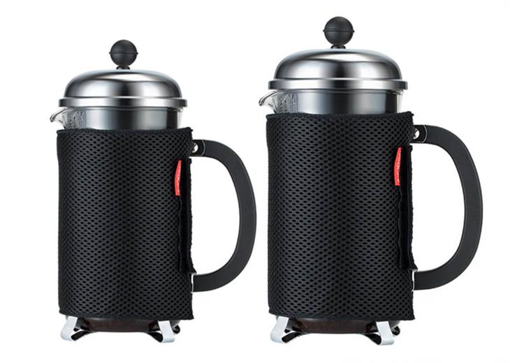 Skydd till kaffepress