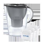 Vattenfilterkannor